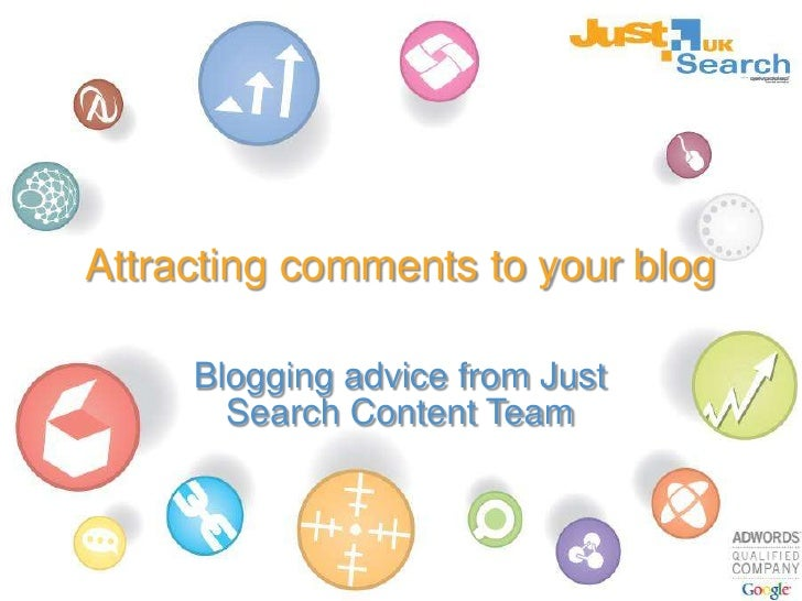 Attracting comments to your site