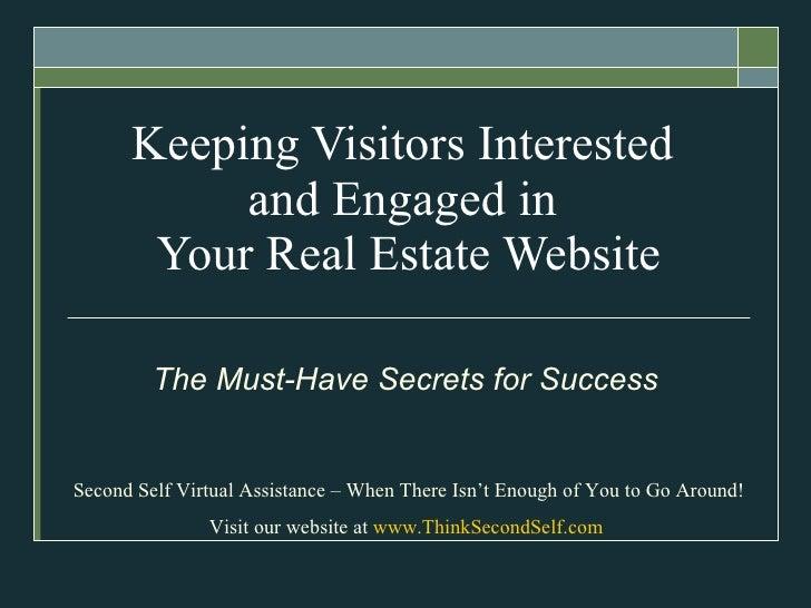 Attracting website visitors