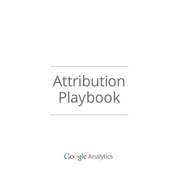 Attribution Playbook