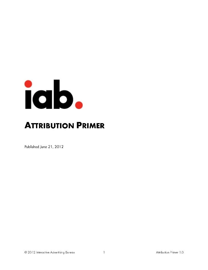 Attribution Primer