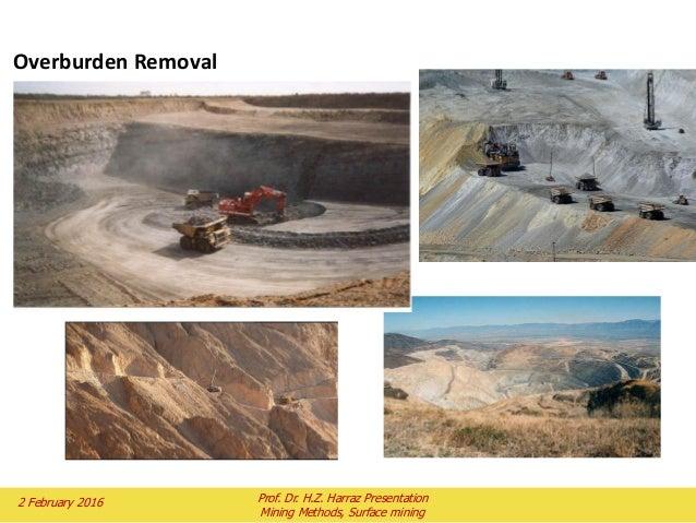 Open Pit Mining Methods Pdf Figure 2.8 Open-pit Mining