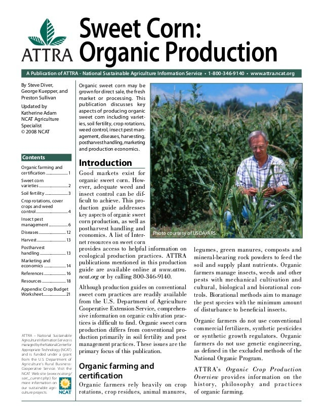 A Publication of ATTRA - National Sustainable Agriculture Information Service • 1-800-346-9140 • www.attra.ncat.org ATTRA ...