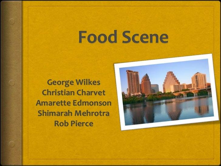 George Wilkes Christian CharvetAmarette EdmonsonShimarah Mehrotra    Rob Pierce