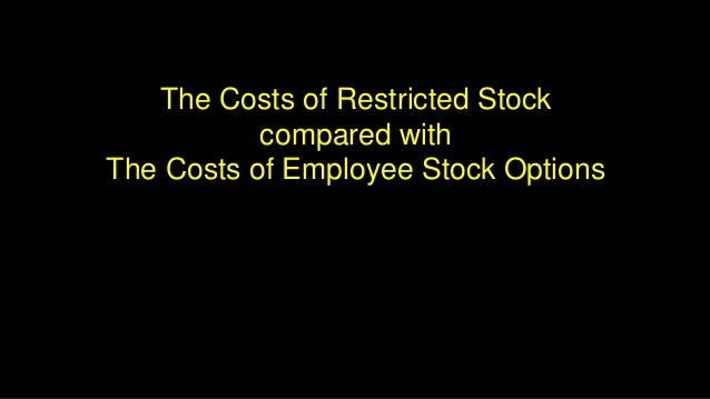Restricted stock options meaning