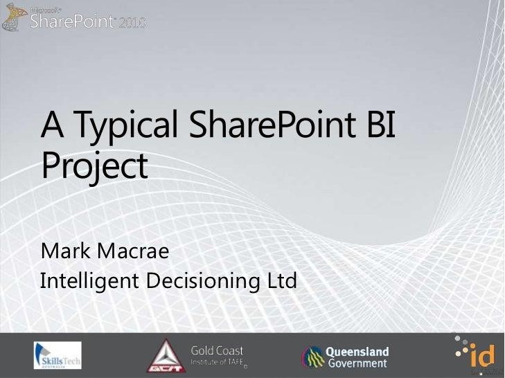 Mark MacraeIntelligent Decisioning Ltd