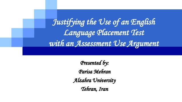 language testing placement test