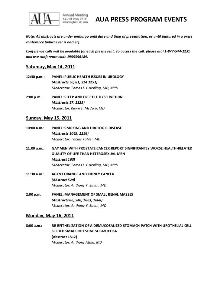 Aua press program events.5.10