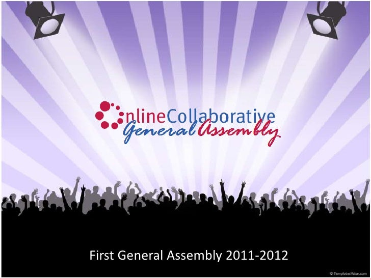 AUB Online Collaborative First General Assembly 2011-12