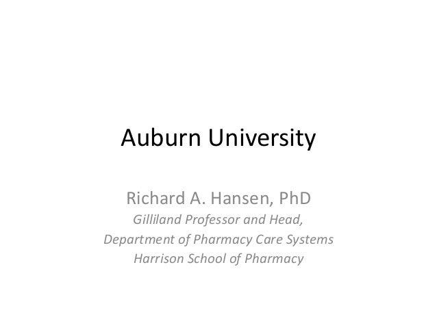 Auburn Univ Telehealth   2013 - Dr. Ric Hansen