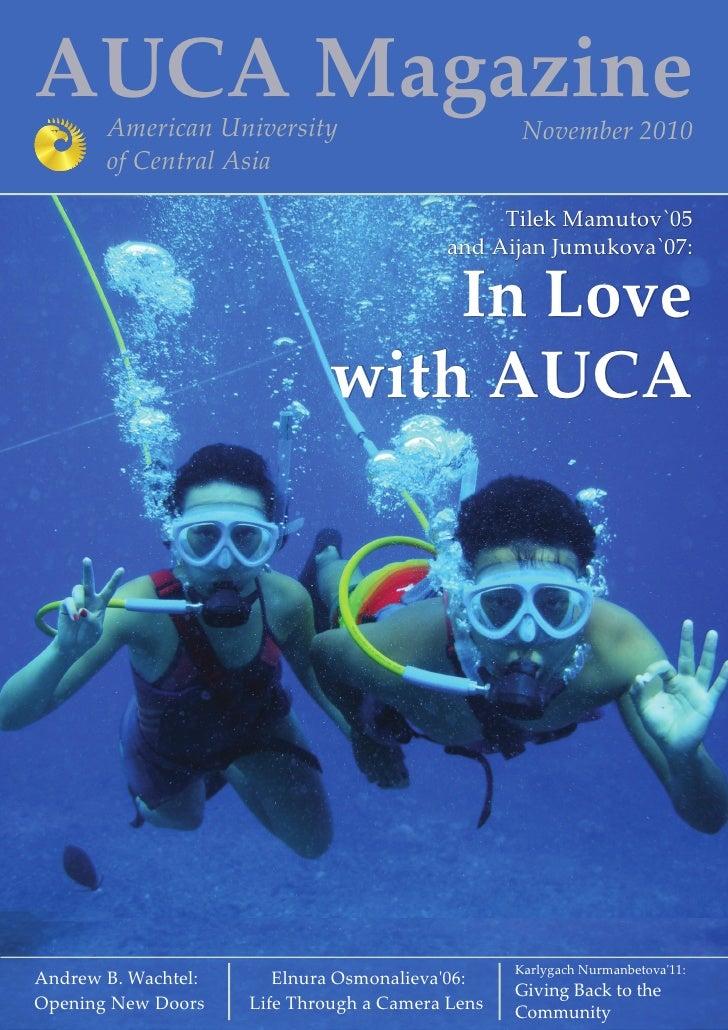 AUCA Magazine October 2010