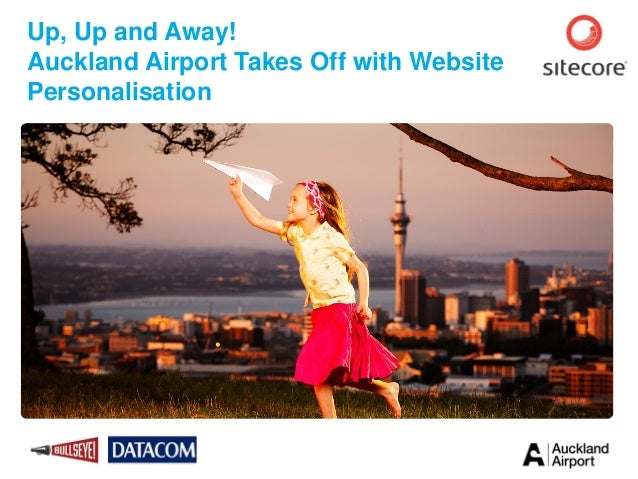 Up, Up and Away! Auckland Airport Takes Off with Website Personalisation