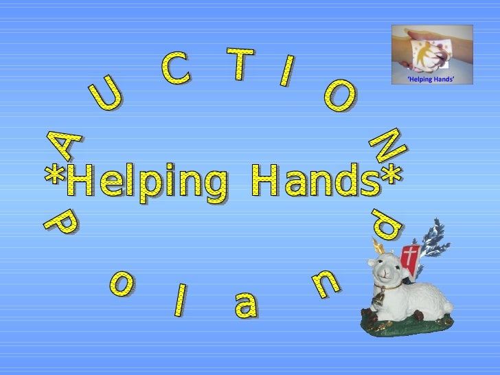 Helping Hands -auction