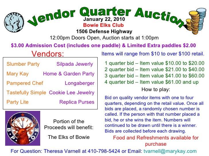 Quarter Auction!!!