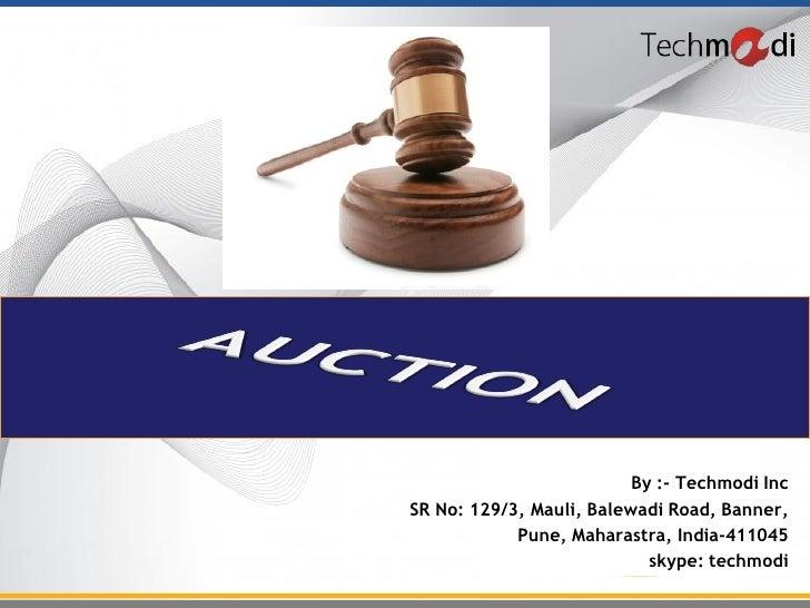 By :- Techmodi IncSR No: 129/3, Mauli, Balewadi Road, Banner,            Pune, Maharastra, India-411045                   ...
