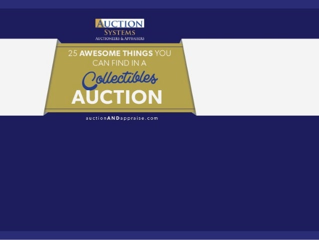25 Awesome Things You Can Find in a Collectibles Auction