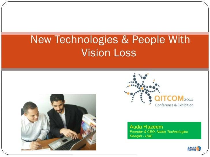 Auda Hazeem's presentation at QITCOM 2011