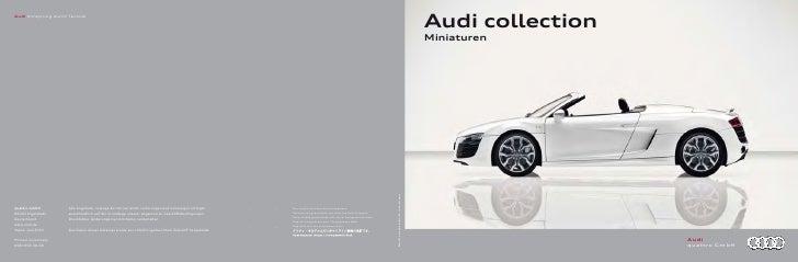 Audi collectionMiniaturen                  Audi                  quattro GmbH