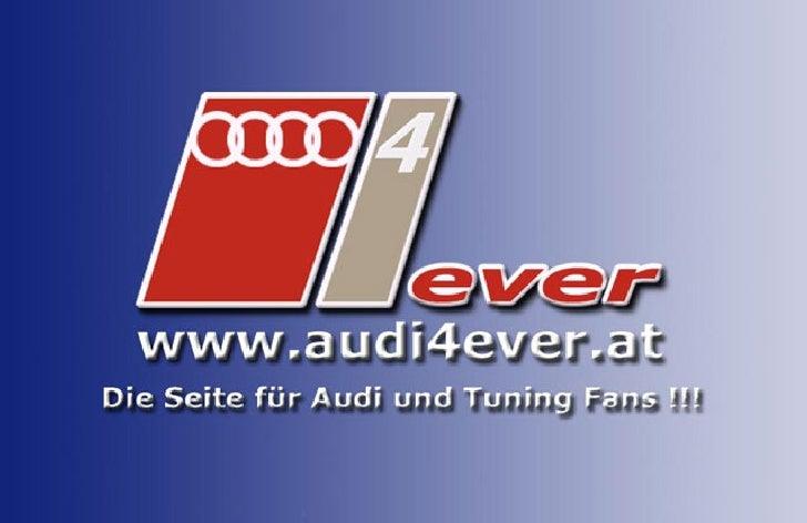 Umbauanleitung Audi A4 8E auf S-Line Front – Version 2 Ich habe das bestehende Dokument der Seite www.audi4ever.at genomme...