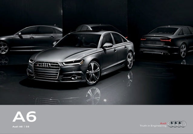 2016 Audi A6 Brochure Orange County Audi Dealer