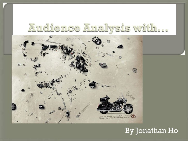 Audience Analysis Presentation
