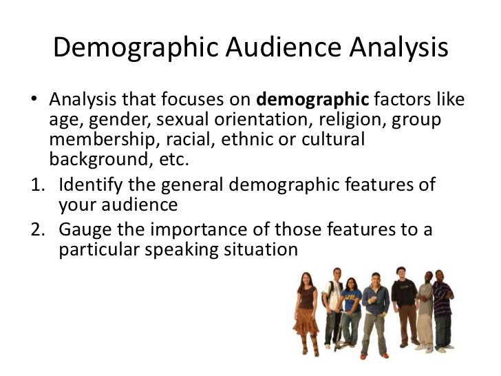 How to write an audience analysis paper