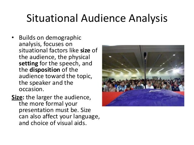 """essays on audience analysis Online guide to writing and be aware of key words on your assignment sheet that will help you identify the intended audience, eg, """"write an analysis for."""