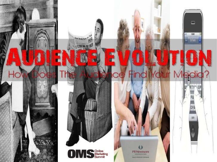 Audience Evolution How Does The Audience Find Your Media? – Online Marketing Summit Feb 2012