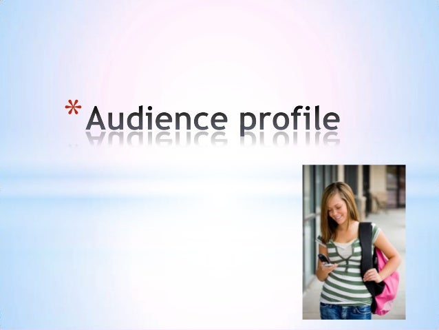 Audience profile better