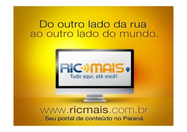 Dados Portal Ricmais Paraná  maio13