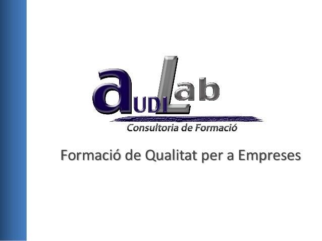 Audilab formacio