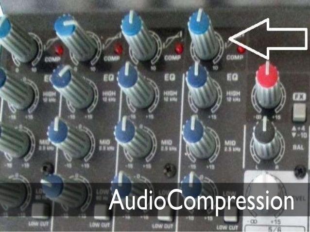 Audio compresion