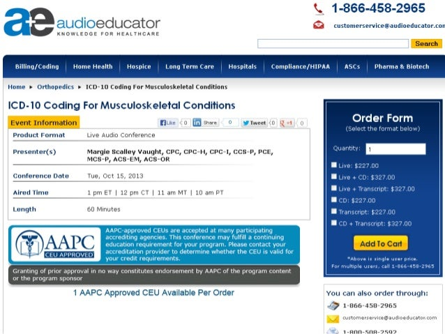 ICD-10 Coding For Musculoskeletal Conditions