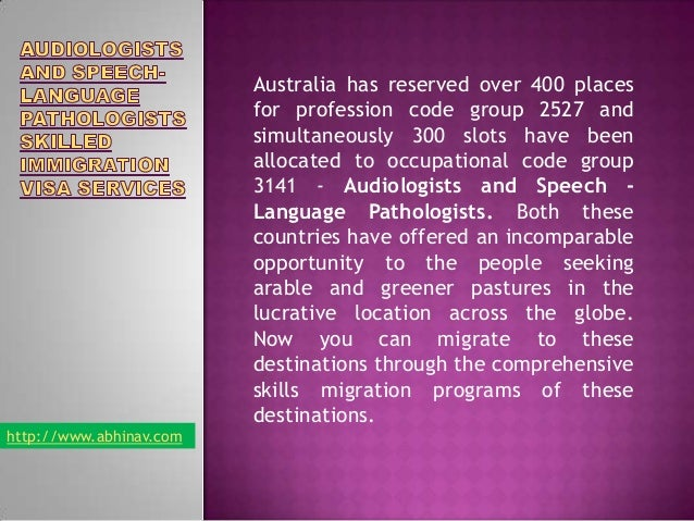Australia has reserved over 400 places for profession code group 2527 and simultaneously 300 slots have been allocated to ...