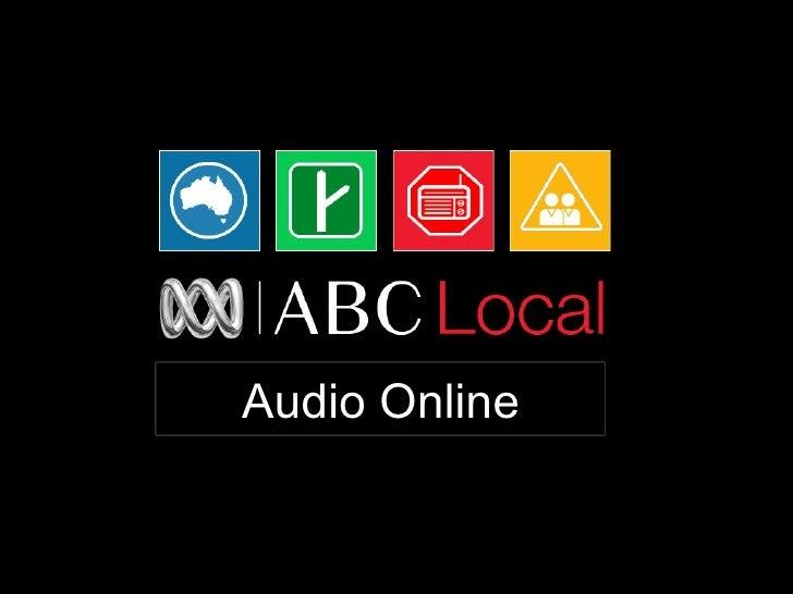 Audio Online