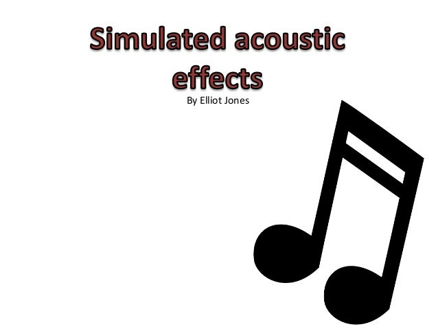 Effects pres