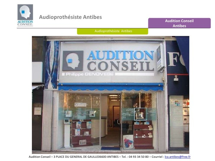 Audioprothésiste Antibes - Audition Conseil Antibes