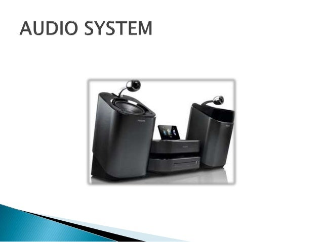 audio system - a system of electronic equipment for recording or reproducing sound