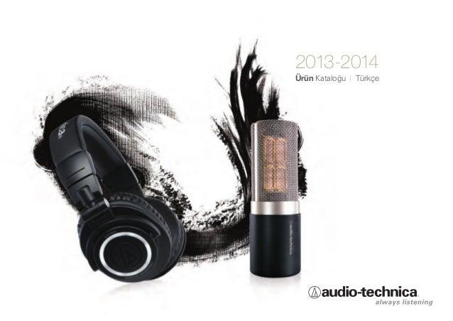 Audio technica urun katalogu 2013 2014