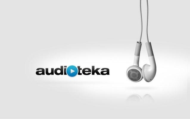 audioknihy kdykoliv a kdekoliv  www.audioteka.cz  mobilní aplikace pro telefony a tablety automobily smart TV