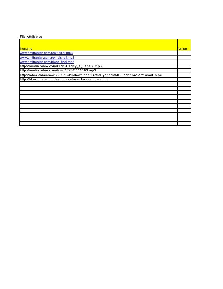File Attributes   filename                                                                          format www.amitranjan....
