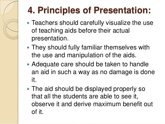 Why is the use of visual aid valuable in the learning process?