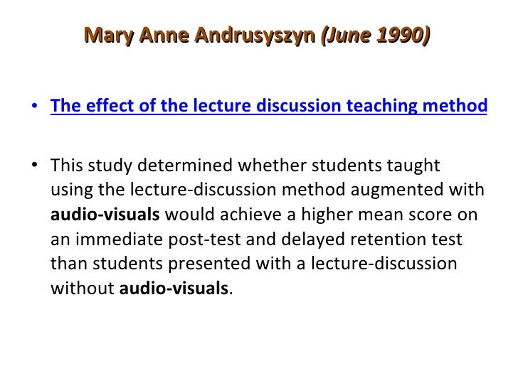 research paper on audio visual aids The main subject areas are tropical medicine, research / teaching materials,  lstm staff and buildings labelling and identification are limited and there are a .