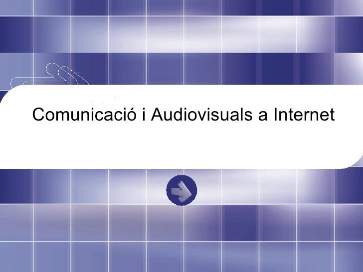 audiovisuals i internet