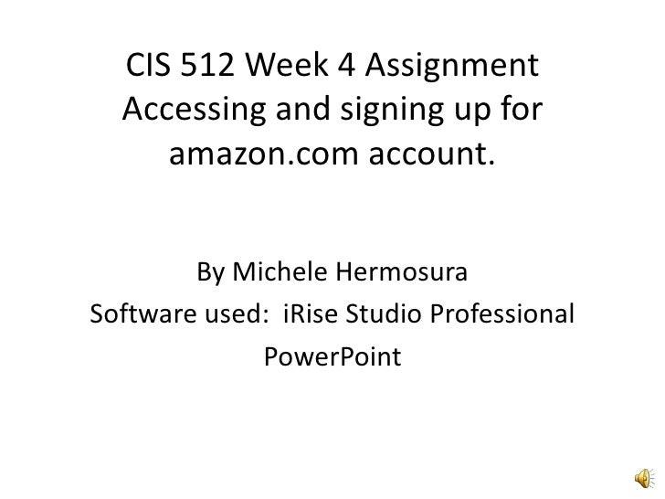 Audio Week 4 Cis 512 Mah
