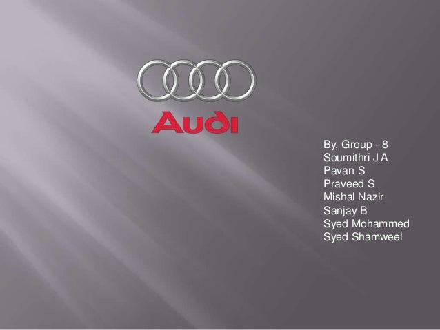 Audi Power Point Presentation 2