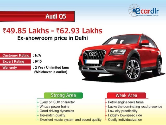 Audi q5 available in 4 variants for Sliding gate motor price in india