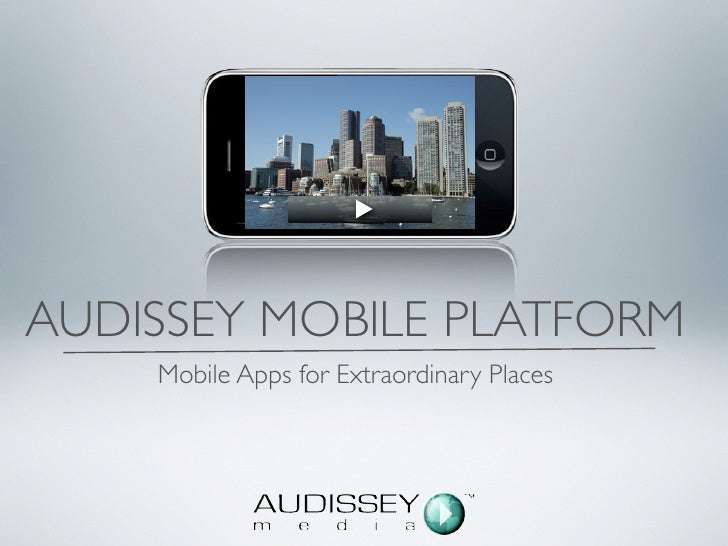 Audissey App Demo City