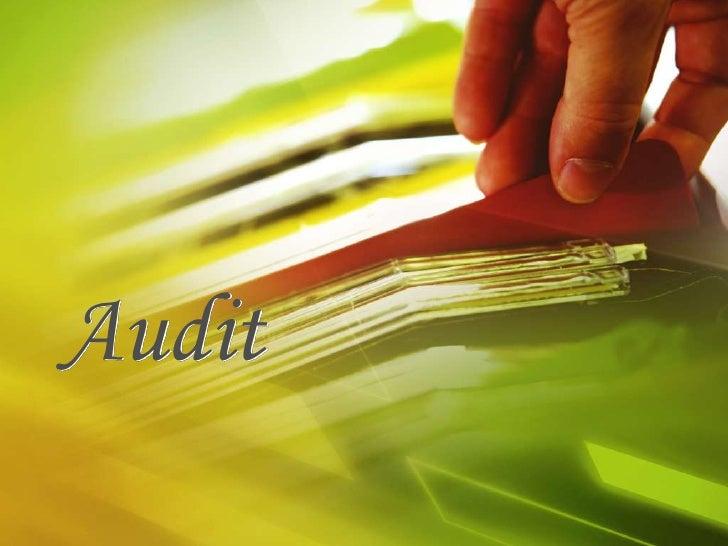 Audit<br />