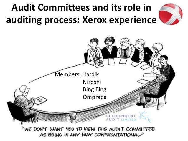 Audit committees and its role in auditing process