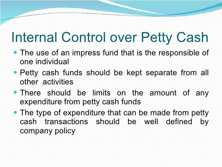 petty cash log example